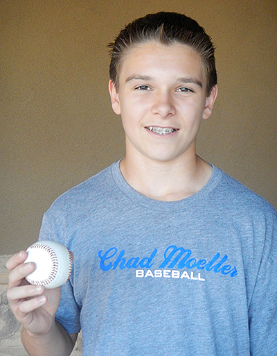Chad Moeller Baseball Featured Player Keagan Bafus