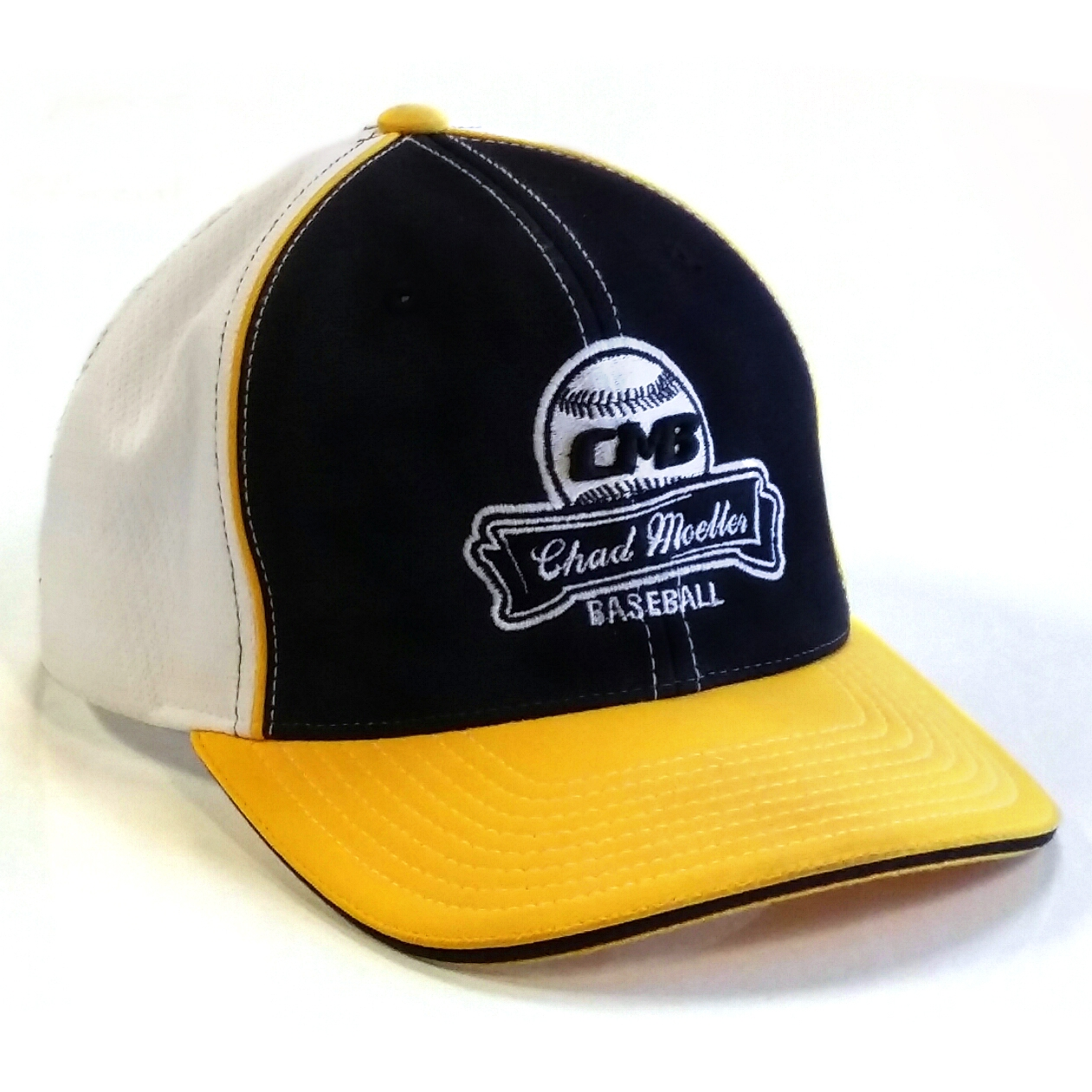 CMB Logo Hat, Yellow and Black